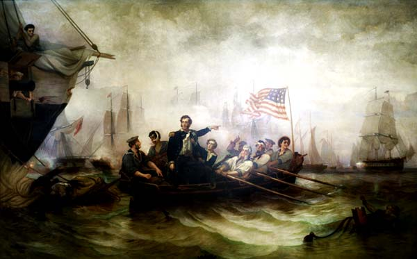 Commodore Perry Transferring his command